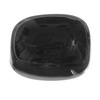16x12 mm Black Flat Oval Onyx in AAA grade