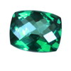 7x5 mm Paraiba Cushion Topaz in AAA Grade