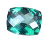 10x8 mm Cushion Checker Board Paraiba Topaz AAA Grade