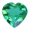 4x4 mm Paraiba Heart Shape Topaz in AAA Grade