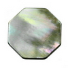 18 mm Octagon Grey Mother of Pearl in AA grade Not Drilled