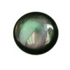 8 mm Round   Grey Rainbow Mother of Pearl AA grade Not Drilled