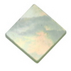 7 mm Square White Mother of Pearl in AA grade Not Drilled