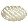 20x13 mm Oval Carved White Mother of Pearl in AA Not Drilled