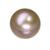 5 mm Round Peach Pearl in AA grade Full Drilled