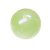 12 mm Green Round Prehnite in AAA grade
