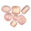 200 Cts twt. Mixed Rose Quartz Lot size (10-50 cts)