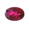 7x5 mm Oval Rich Ruby Red Rubelite  in A Grade