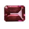 5x4 mm Ruby Red Octagon Rubellite in A Grade