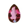 4x3 mm Ruby Red Pear Rubellite in A Grade