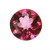 2.5 mm Ruby Red Round Rubellite in A Grade