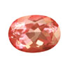 7x5 mm Strawberry Pink Oval Topaz in AAA Grade