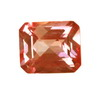 7x5 mm Strawberry Pink Octagon  Topaz in AAA Grade