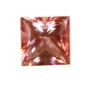 10x10 mm Strawberry Pink Square Topaz in AAA Grade