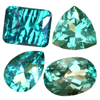 100 Ct Fancy Rainbow Topaz Lot in size 1-5 cts