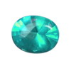 5x3 mm Teal Green Oval Topaz in AAA Grade