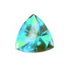 8x8 mm Teal Green Trillion Topaz in AAA Grade