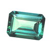 7x5 mm Teal Green Octagon Topaz in AAA Grade