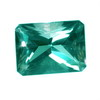 9x7 mm Teal Green Octagon Topaz in AAA Grade