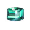 10.5x8.2 mm Teal Green Barrel Topaz in AAA Grade