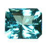 10x8 mm Octagon Shape Simulated Sapphire in Fine Grade