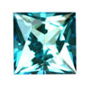 10 mm Square Teal Blue Square Topaz in AAA Grade