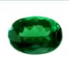 7x5 mm Oval Faceted Green Tourmaline 5 piece Lot A Grade