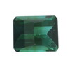 9.7x4.9 mm Barrel cut Octagon Green Tourmaline in AAA Grade