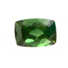 7.1x4.9 mm Faceted cut Cushion Green Tourmaline in AAA Grade