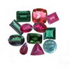100 Ct Twt Mixed Multicolor Tourmaline Lot size 0.50-2 Ct
