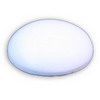 24 x 19 x 9 mm Cabochon Oval White White Agate