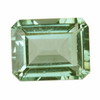 11x9 mm Green Emerald Cut Amethyst (Prasiolite)
