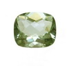 14x12 mm Long Cushion Checker Board Green Amethyst AAA Grade