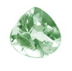 12 mm Trillion Checker Board Green Amethyst in AAA Grade