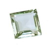 7 mm Green Square Amethyst in AAA Grade