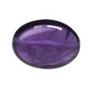16x12 mm Voilet Oval Amethyst in AAA grade