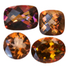 25 Ct twt Azotic Twilight Topaz Lot size (1-5 ct)