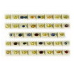 24 Cts twt. Mixed Blue & Yellow Sapphire Lot size (0.50-1.0 cts)