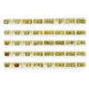 47 Cts twt. Mixed Yellow Sapphire Lot size (0.50-1.0 cts)