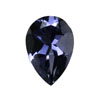 Iolite Faceted Violet Blue Pear   8.0x5.0 mm.  VS  clarity AAA