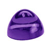3 mm Round African Amethyst Cabochon in AAA Grade