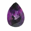 14X10 mm Pear Shape Dark Amethyst in AAA Grade