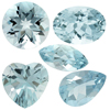 50 Cts twt. Mixed light Medium Aquamarine Lot size (0.25-1 cts)