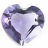 10 mm Heart Shape Brazilian Amethyst in A Grade