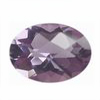 8x6 mm Oval Shape Brazilian Amethyst in AAA Grade
