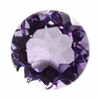 8 mm Round Shape Brazilian Amethyst in AAA Grade