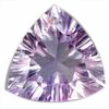 3 mm Trillion Shape Brazilian Amethyst in AA Grade