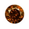 2.5 mm Brown Diamond I1 Clarity