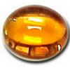 6x4 mm Oval Citrine Cabochon in Super Grade