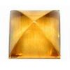 4 mm Square Citrine Cabochon in A Grade